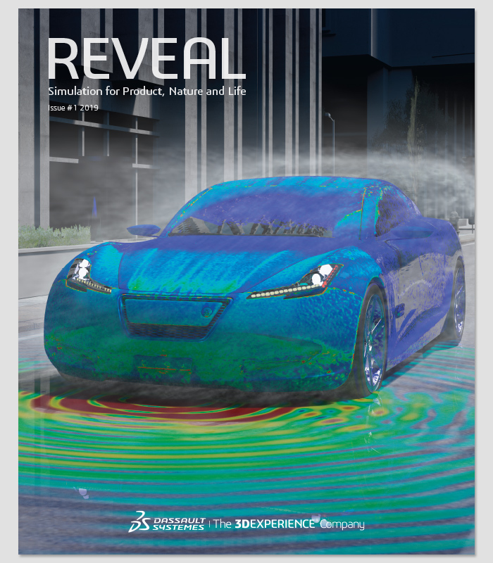 REVEAL magazine cover